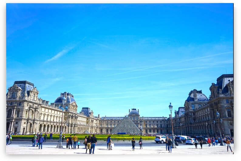 Paris Snapshot in Time 7 of 8 by 24