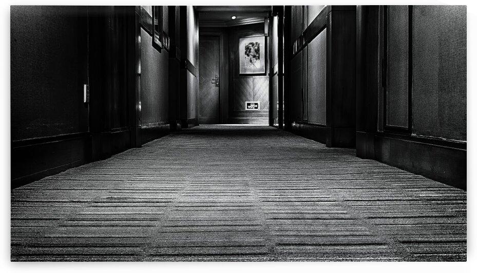 A Hallway In A Hotel Nantong China | 2014-12-NAN-CORR by Vlad Meytin