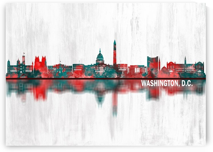 Washington D.C. USA Skyline by Towseef Dar