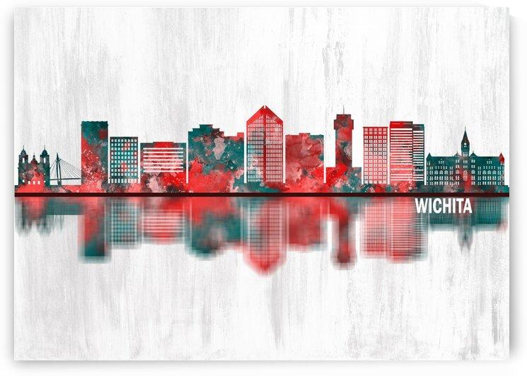 Wichita Kansas Skyline by Towseef Dar