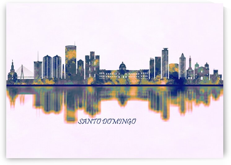 Santo Domingo Skyline by Towseef Dar