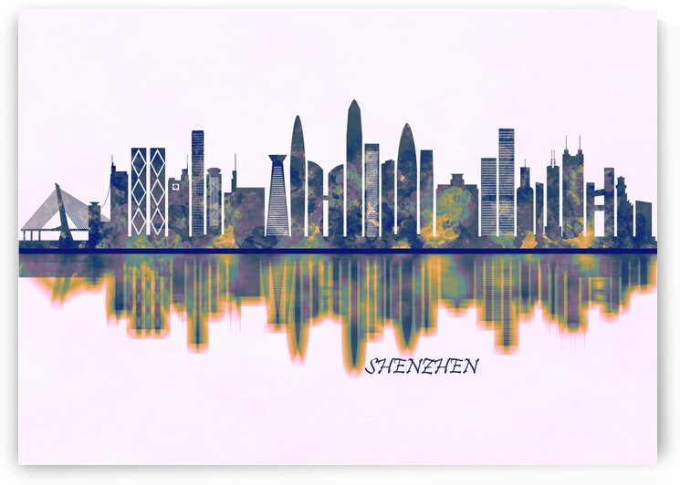 Shenzhen Skyline by Towseef Dar