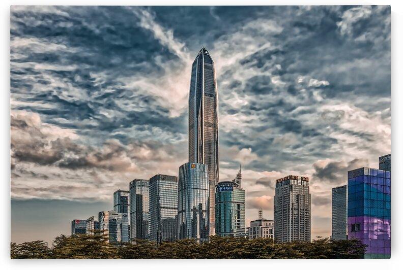 Downtown Shenzhen China 7   06-2018 art by Vlad Meytin