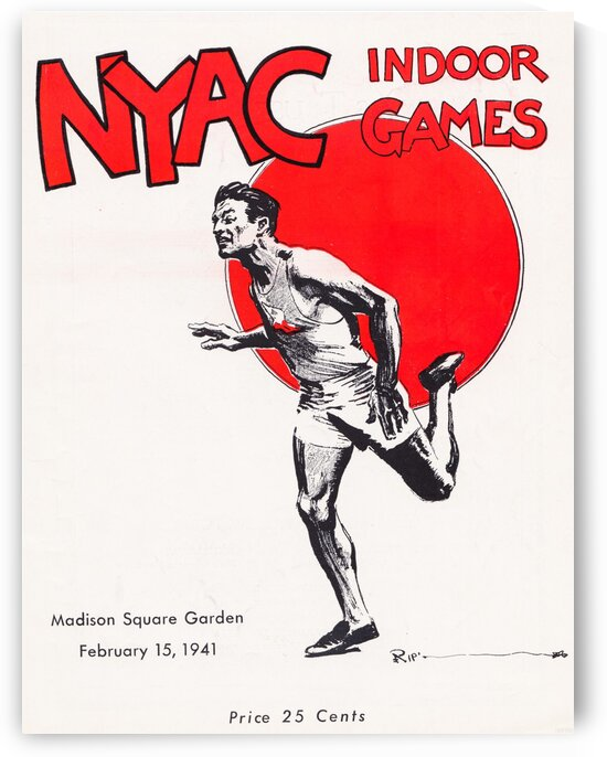 1941 New York Indoor Games by Row One Brand