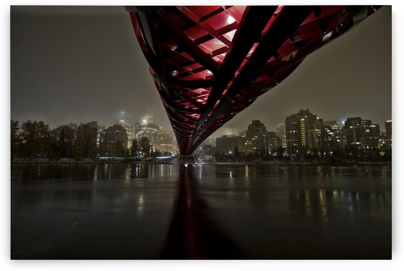 Calgary Peace Bridge by Helder Martins  by 1x