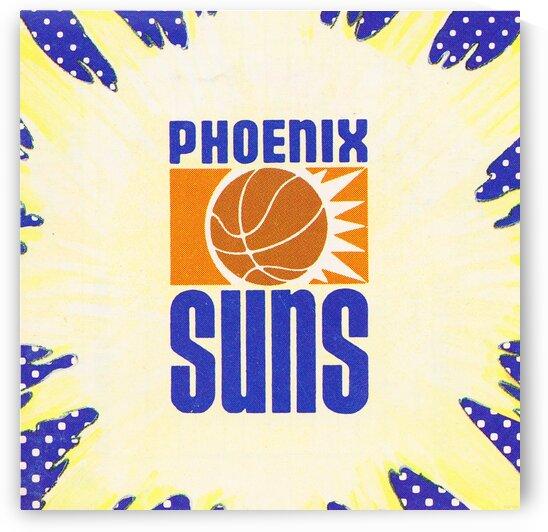 1988 Phoenix Suns Art by Row One Brand