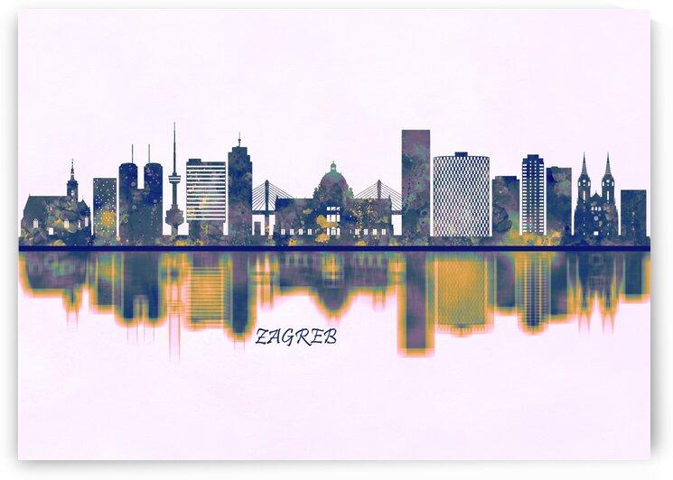 Zagreb Skyline by Towseef Dar