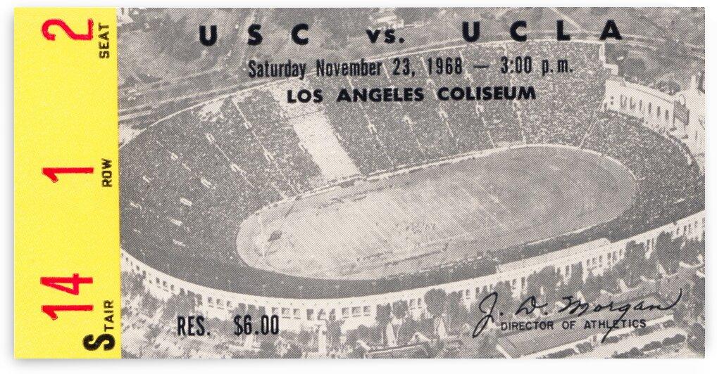1968 UCLA vs. USC by Row One Brand