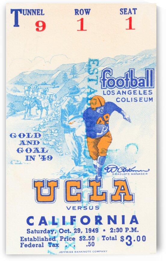 1948 UCLA vs. California by Row One Brand