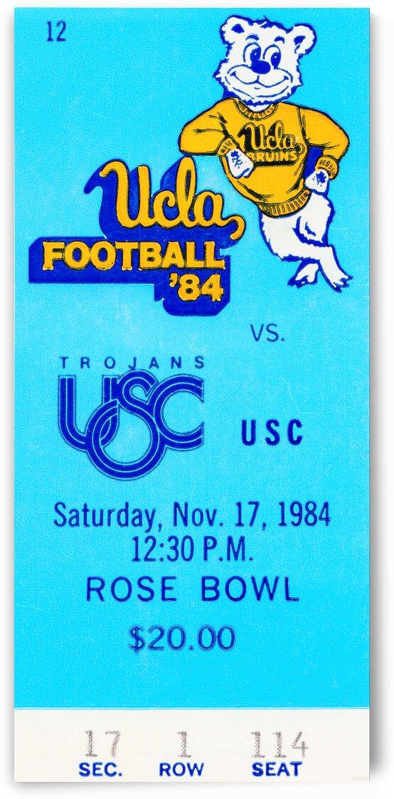 1984 USC vs. UCLA by Row One Brand