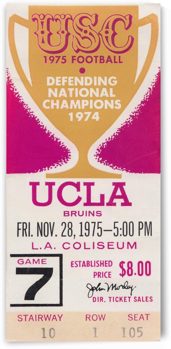 1975 UCLA vs. USC by Row One Brand