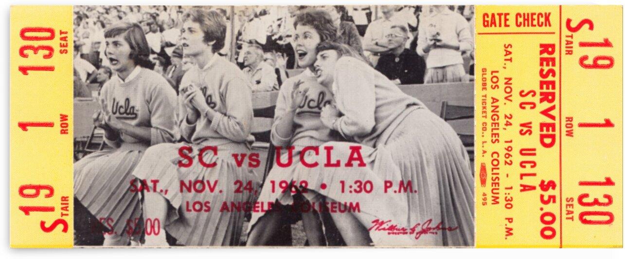 1962 USC vs. UCLA by Row One Brand
