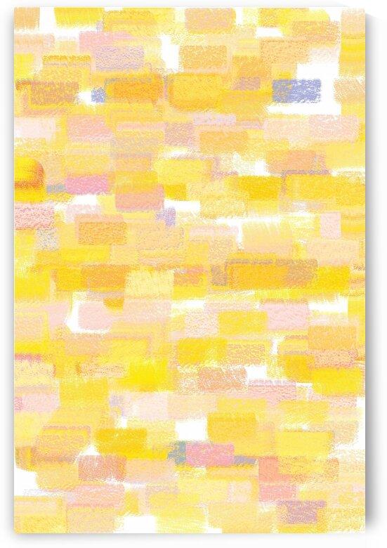 The Brick Wall Yellow by Joy Watson