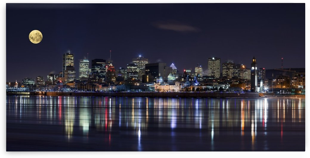 Montreal Night by 1x