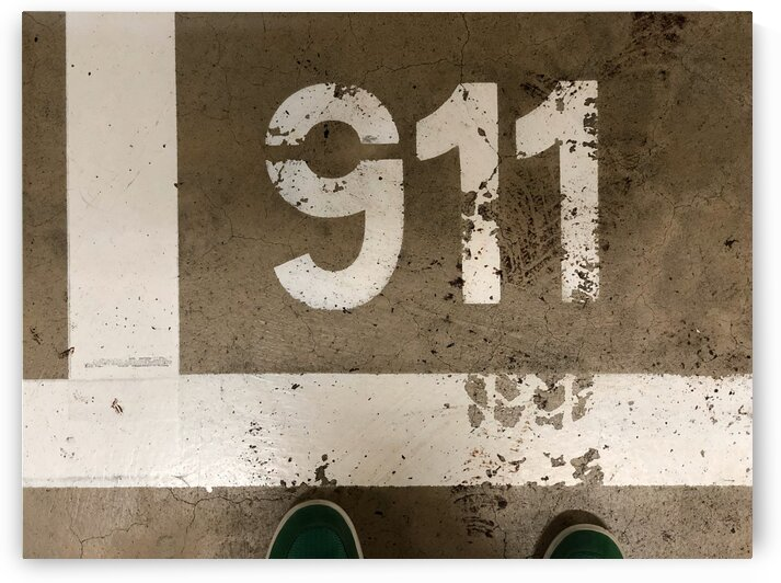 Covid-19 reminds my to 911 it is awful by Swiss Art by Patrick Kobler