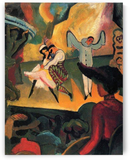 Russian ballet by Macke by Macke