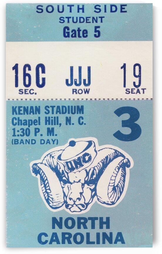 1978 North Carolina Student Ticket by Row One Brand