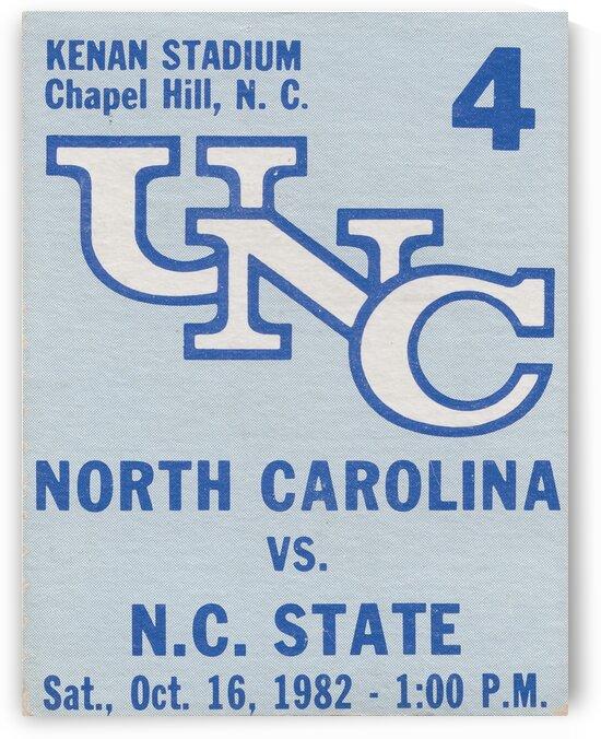 1982 North Carolina vs. NC State by Row One Brand