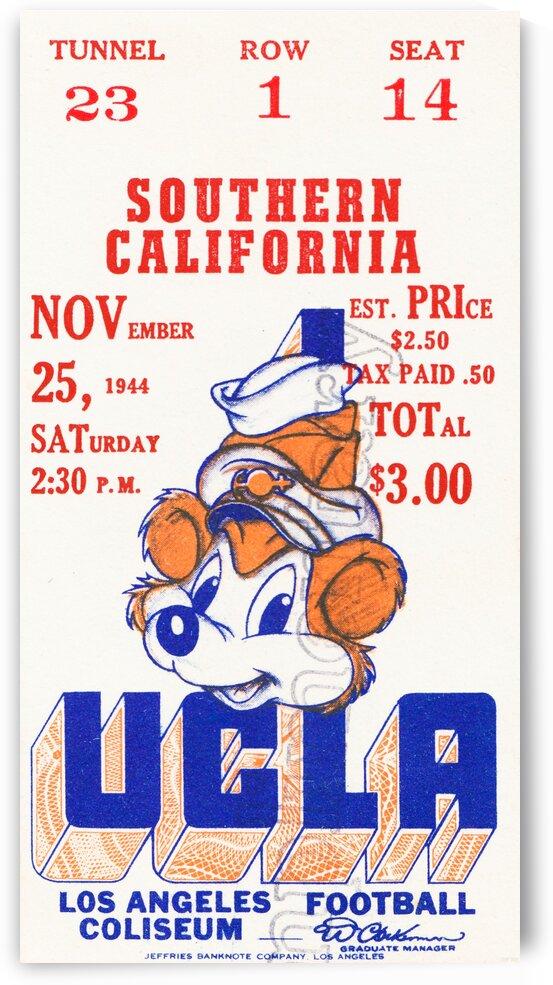 1944 USC vs. UCLA by Row One Brand