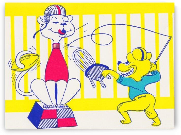 1956 UCLA Cartoon by Row One Brand