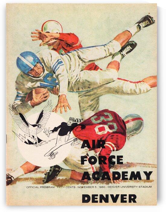 1961 Air Force vs. Denver by Row One Brand