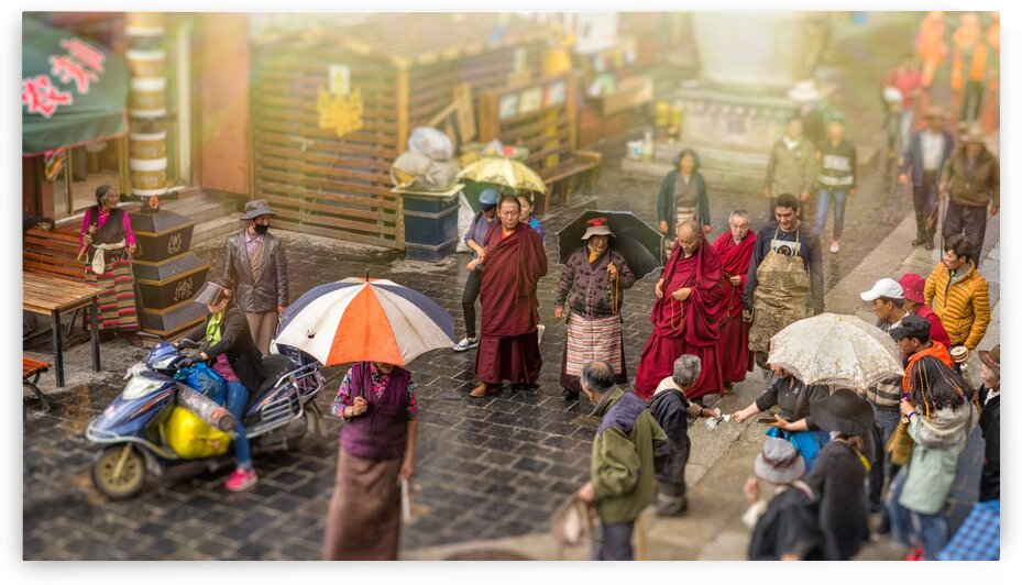 People On The Streets Of Lhasa Tibet 94   6-2016 by Vlad Meytin