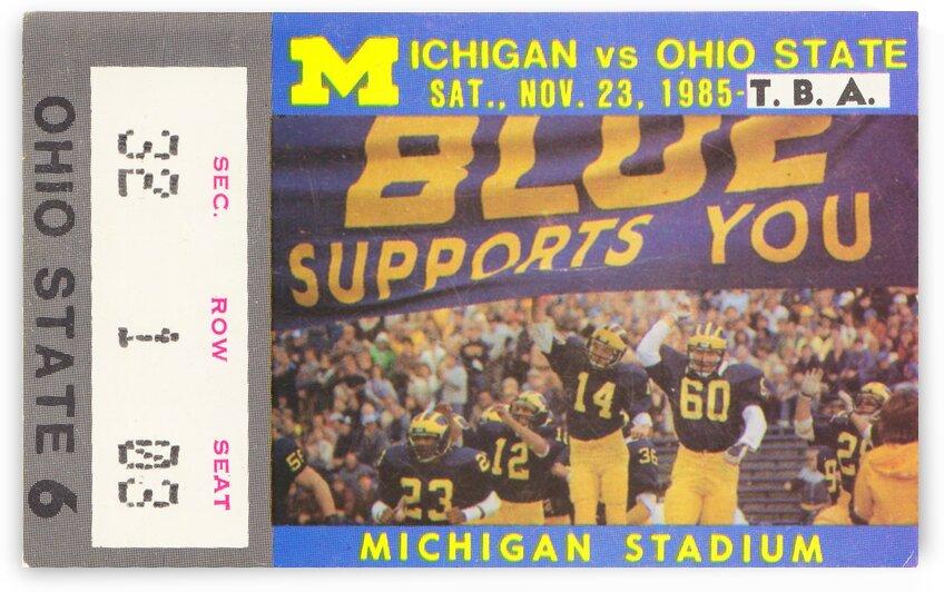 1985 Michigan vs. Ohio State by Row One Brand
