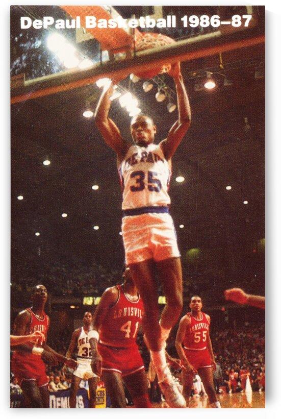 1986-87 DePaul Basketball by Row One Brand