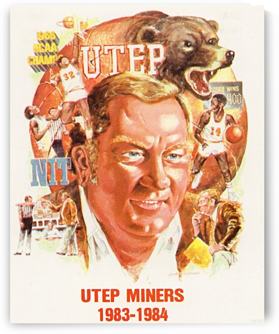 1983 UTEP Basketball by Row One Brand
