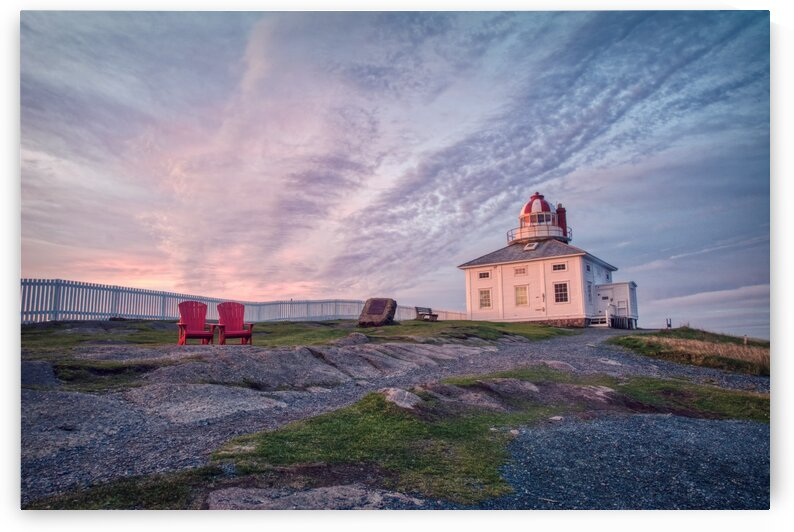 Cape Spear Sunrise by David Brophy