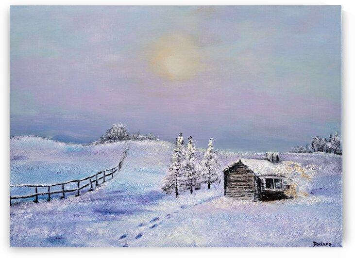 winter silence by Daciana