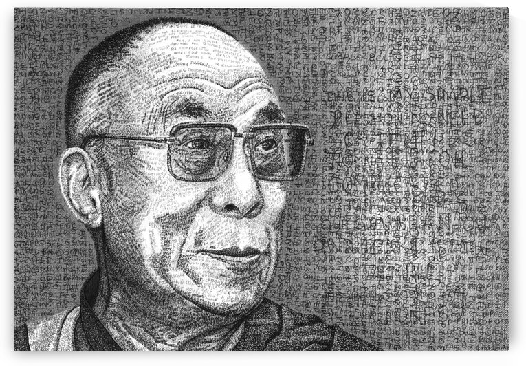 THE DALAI LAMA by Tim Glasby