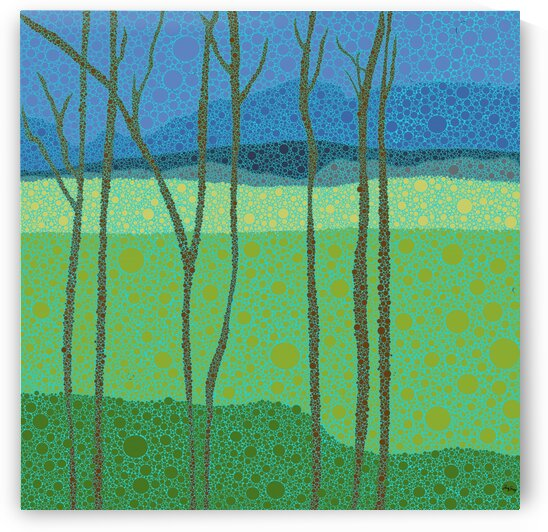 Forest signed by Trish Sierer