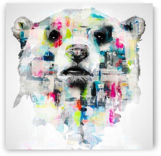 L ours by FANNY artiste peintre
