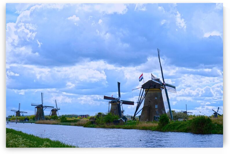 Windmills of the Netherlands 1 of 4 by 360 Studios