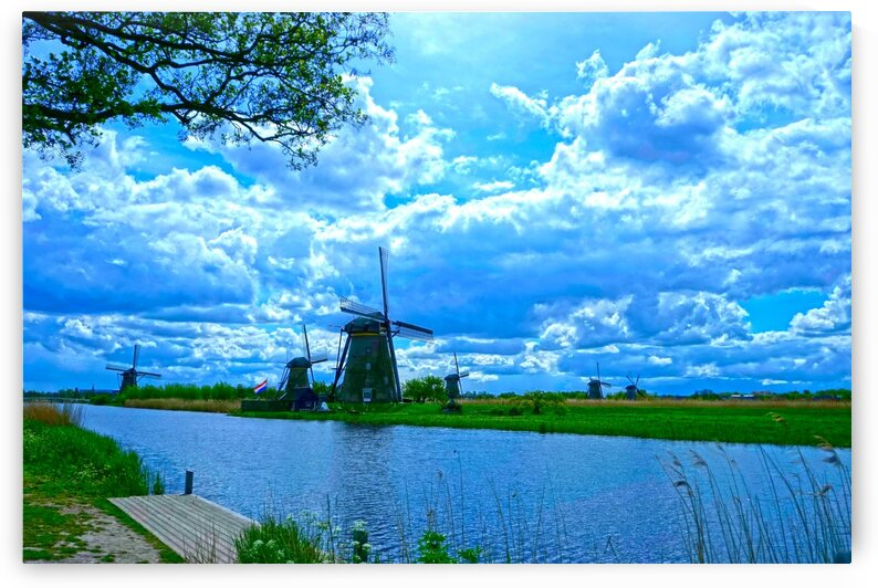 Windmills of the Netherlands 2 of 4 by 360 Studios