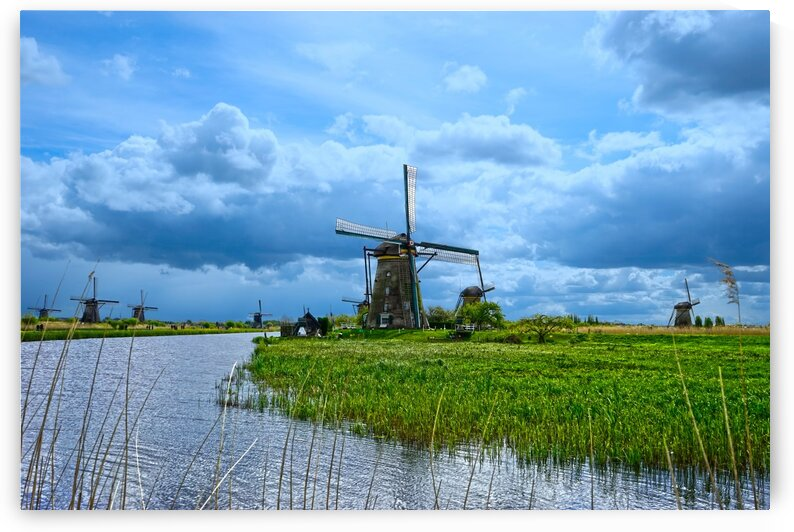 Windmills of the Netherlands 3 of 4 by 360 Studios