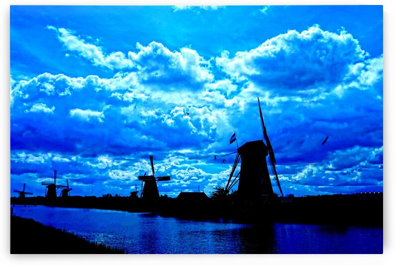Windmills of the Netherlands 4 of 4 by 360 Studios