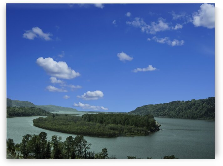 Columbia River in Oregon by 1North