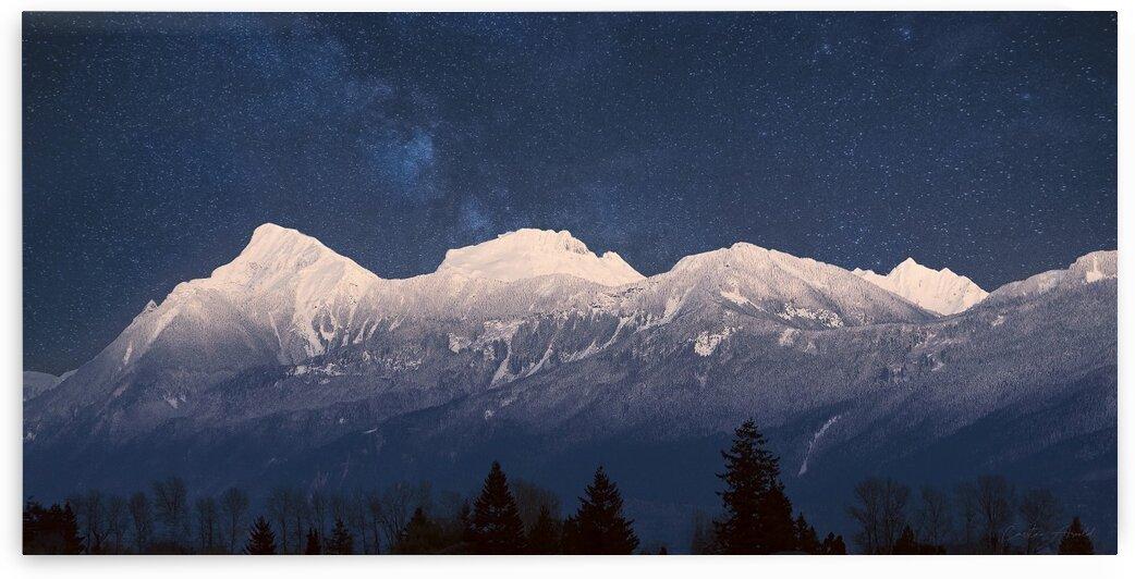 Mt. Cheam Range In Snow by Carmel Studios