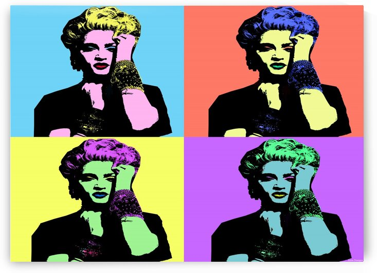 MADONNA 80s POP ART by LUNA DESIGNS