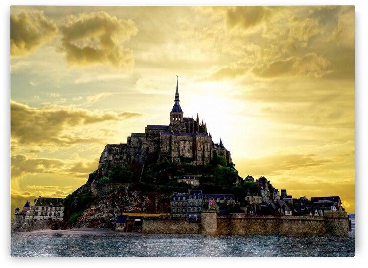 Golden Mont St Michel by 1North