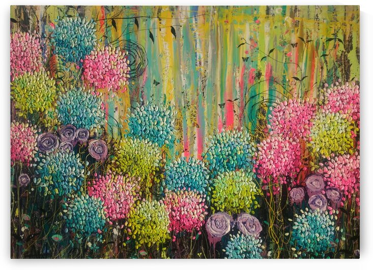 Flower Candy  by Angie Wright Art