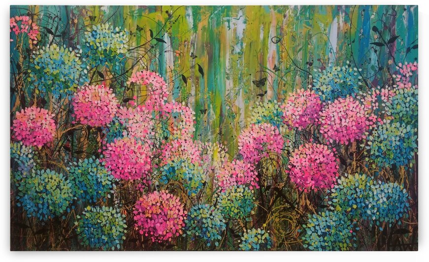 Simple Abundance by Angie Wright Art