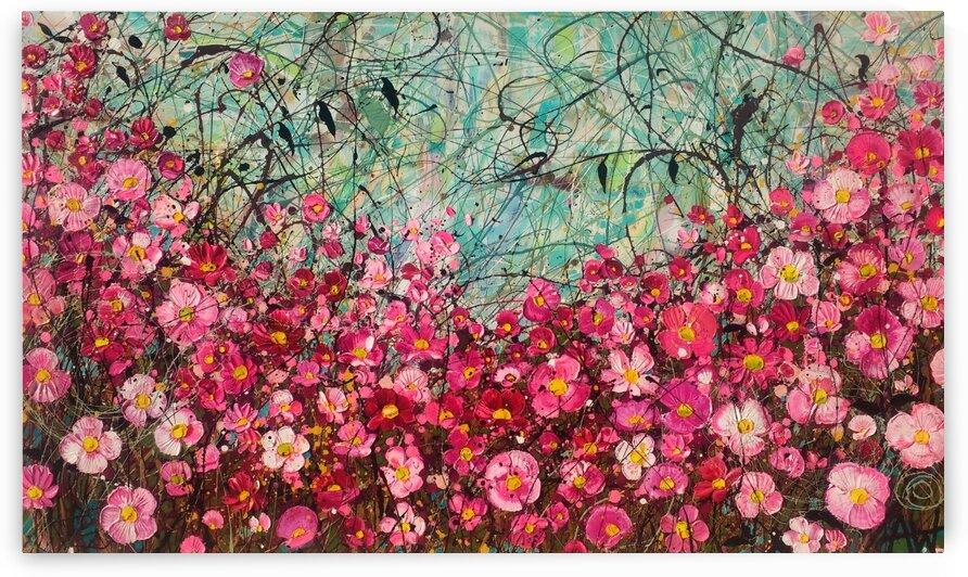Celebration  by Angie Wright Art