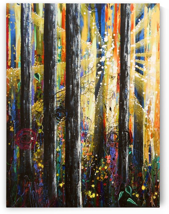 ascension 1 by Angie Wright Art