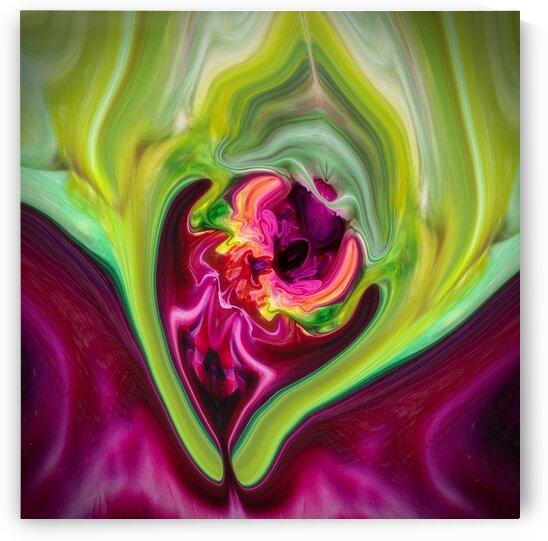 Naissance de Fleur - Birth of a Flower  by Carole Ledoux Creations Cl