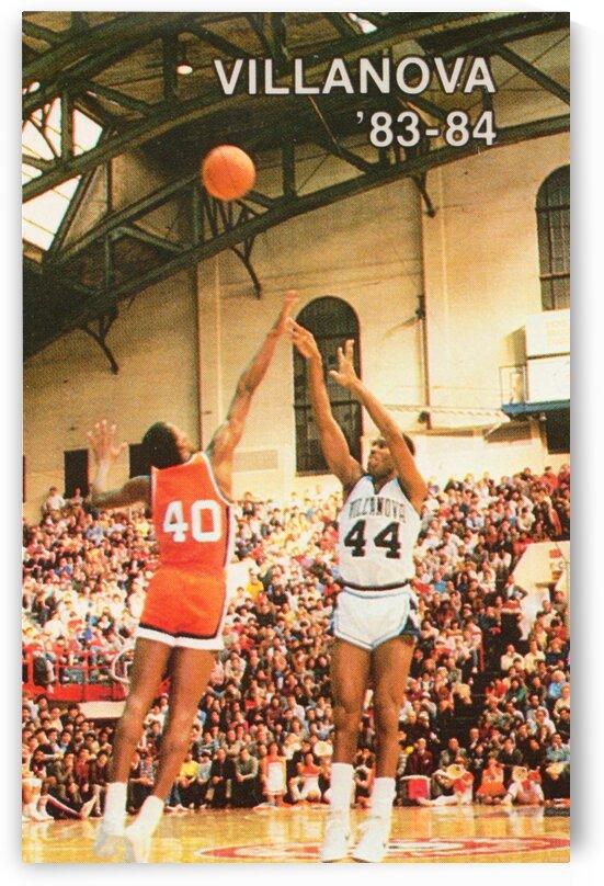 1983 Villanova Basketball Poster by Row One Brand