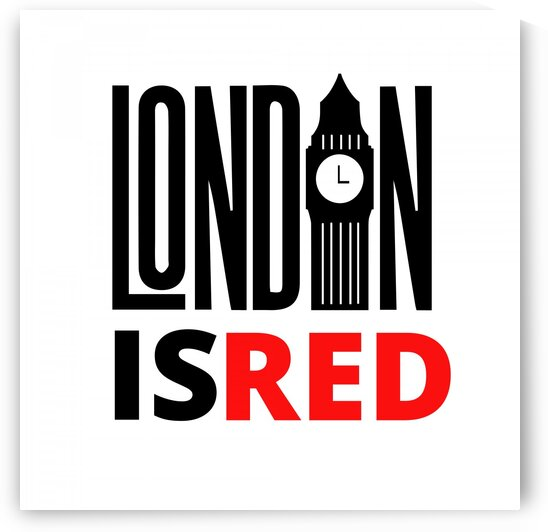 London Is Red   by Vicky Hanggara