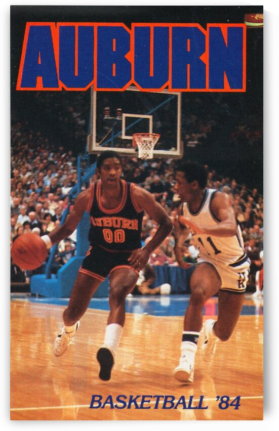1984 Auburn Basketball by Row One Brand
